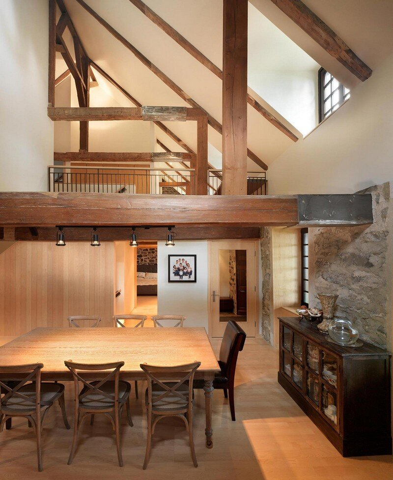 200 Year Old Stone House with Renovated Contemporary Interior 4