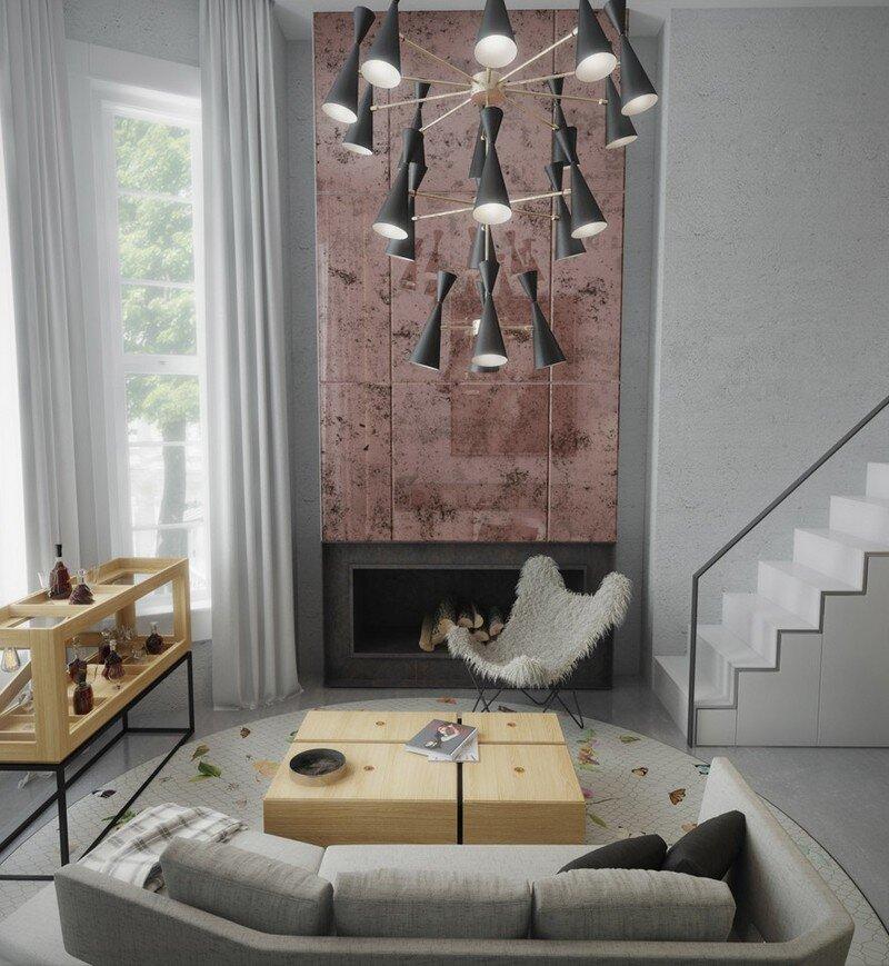 33 sqm Mezzanine Apartment in London Art Buro 11