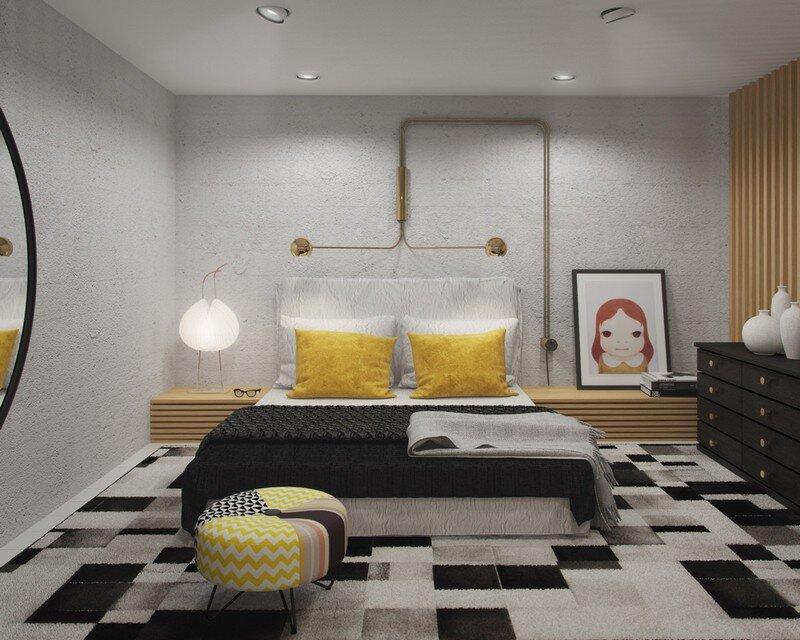 33 sqm Mezzanine Apartment in London Art Buro 10