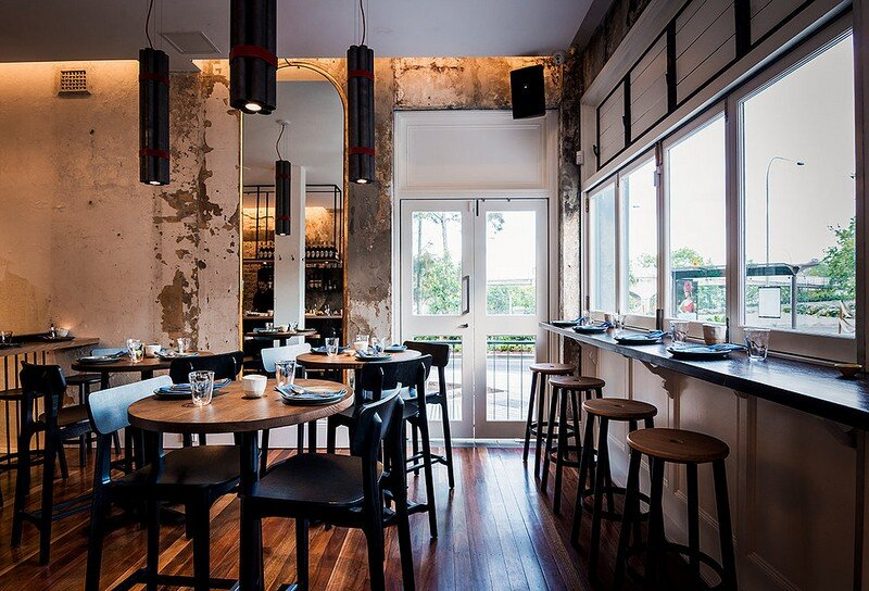 ACME restaurant is a Raw and Intimate Retreat Luchetti Krelle 1