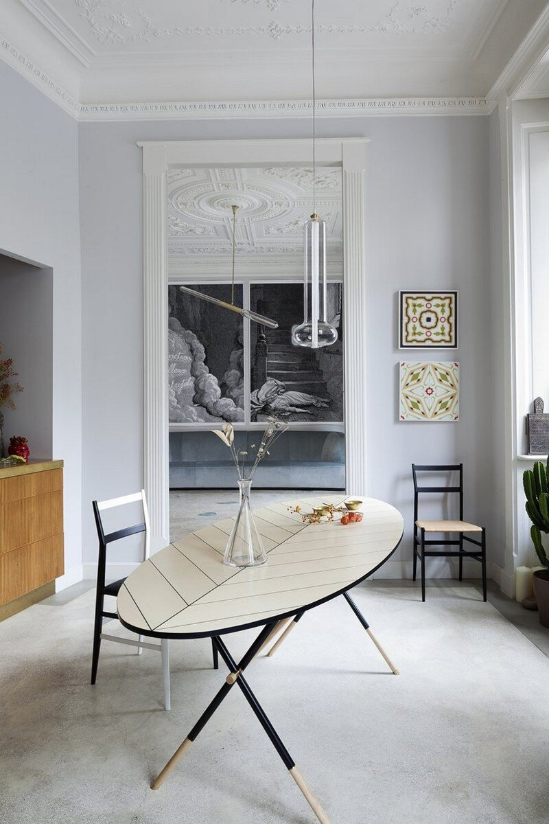Art Nouveau Style Apartment in Milan Pietro Russo 2