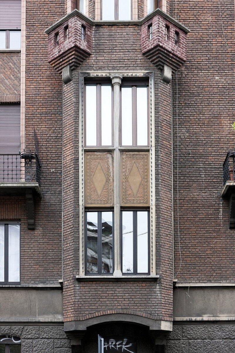 Art Nouveau Style Apartment in Milan Pietro Russo 17