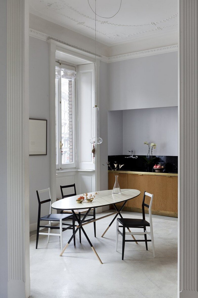Art Nouveau Style Apartment in Milan Pietro Russo 7