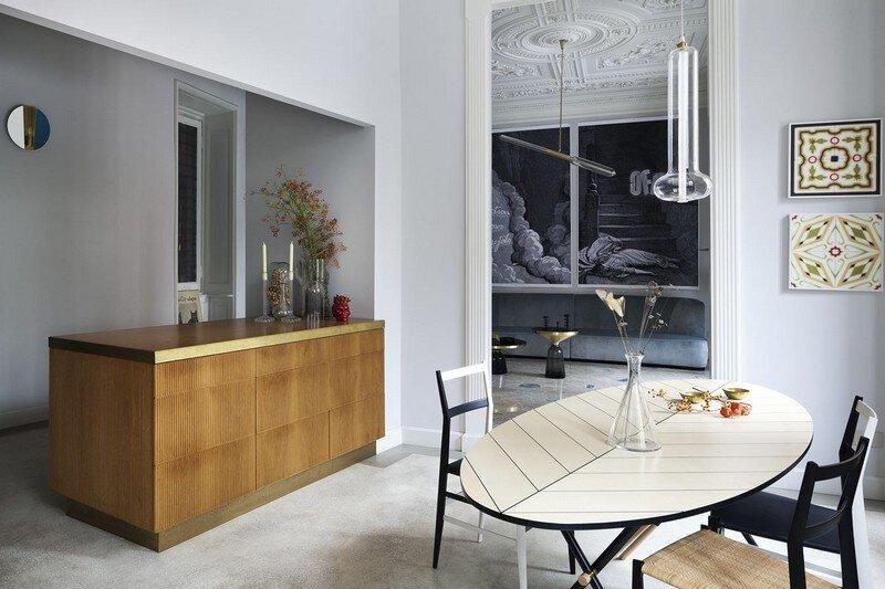 Art Nouveau Style Apartment in Milan Pietro Russo 3
