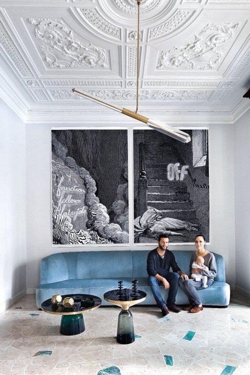 Art Nouveau Style Apartment in Milan Pietro Russo 1