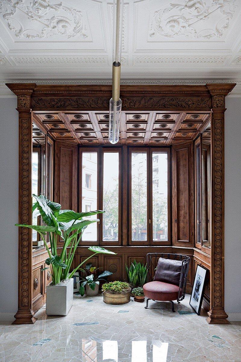 Art Nouveau Style Apartment in Milan Pietro Russo 6