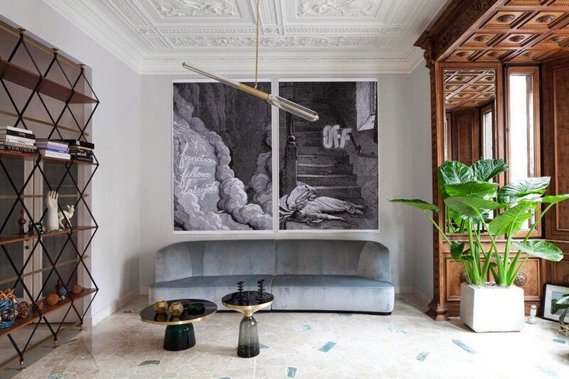 Art Nouveau Style Apartment in Milan / Pietro Russo
