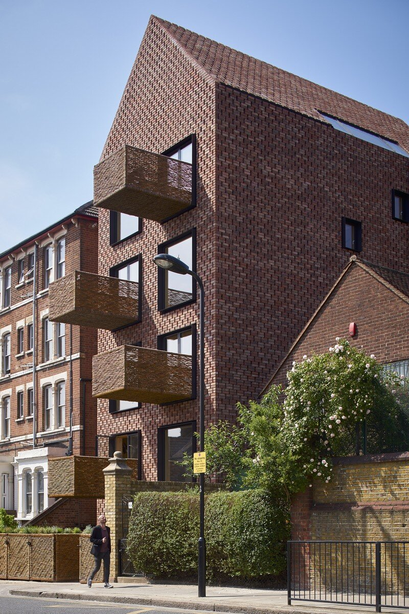 Barretts Grove Apartments in London Groupwork and Amin Taha 20