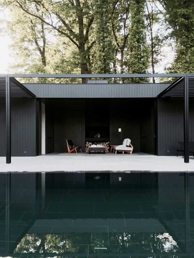 CD Pool House - Simple Yet Elegant Space for Relaxing Marc Merckx Interiors (1)