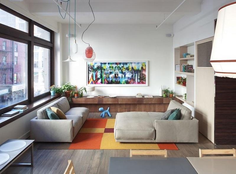 Chelsea 25th Street Loft in New York City / Design-Apart