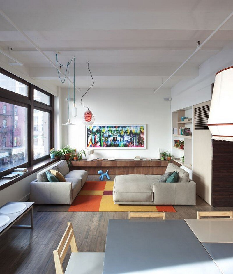 Chelsea 25th street loft in new york city design apart for Lofts in new york city