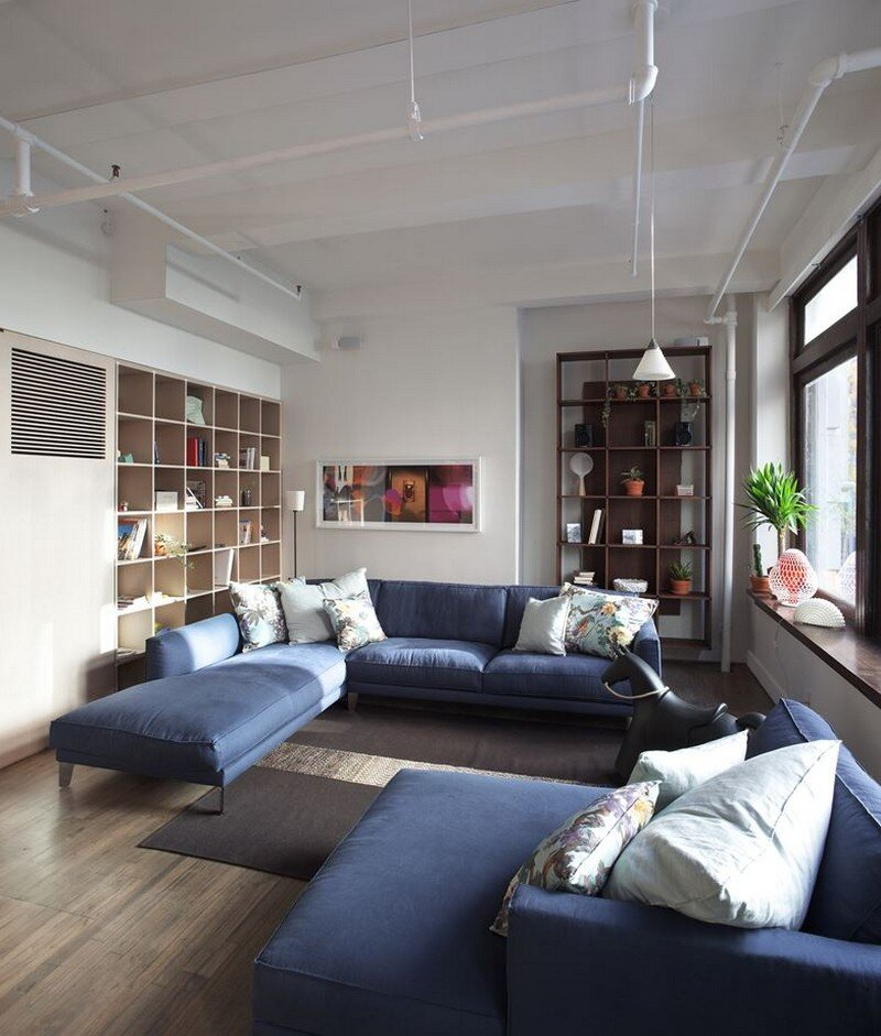 Chelsea 25th Street Loft in New York City Design-Apart (6)