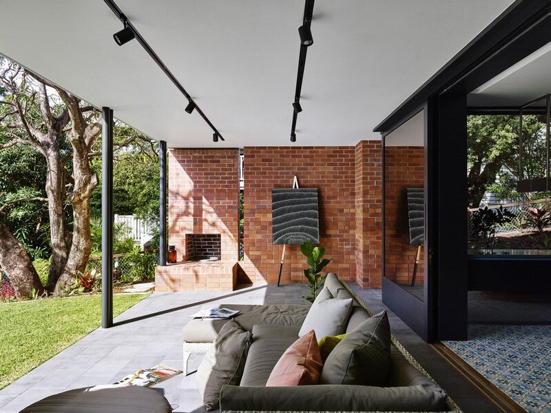 Drury Street House - Renovation and Extension to a Queenslander by Marc and Co Architects 2