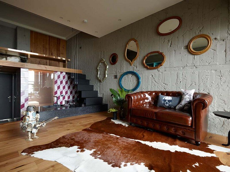 Eclectic House for Two Collectors of Toys Taipei City 4