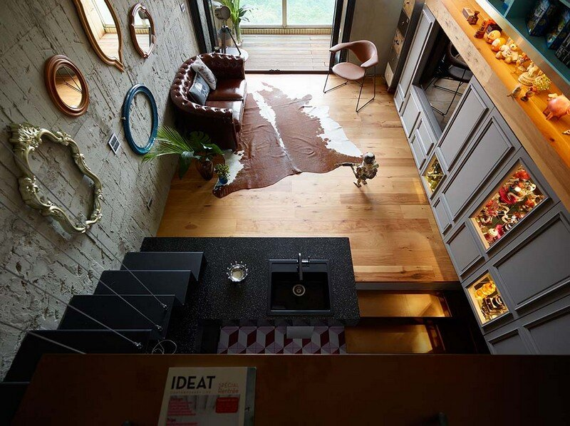 Eclectic House for Two Collectors of Toys Taipei City 5
