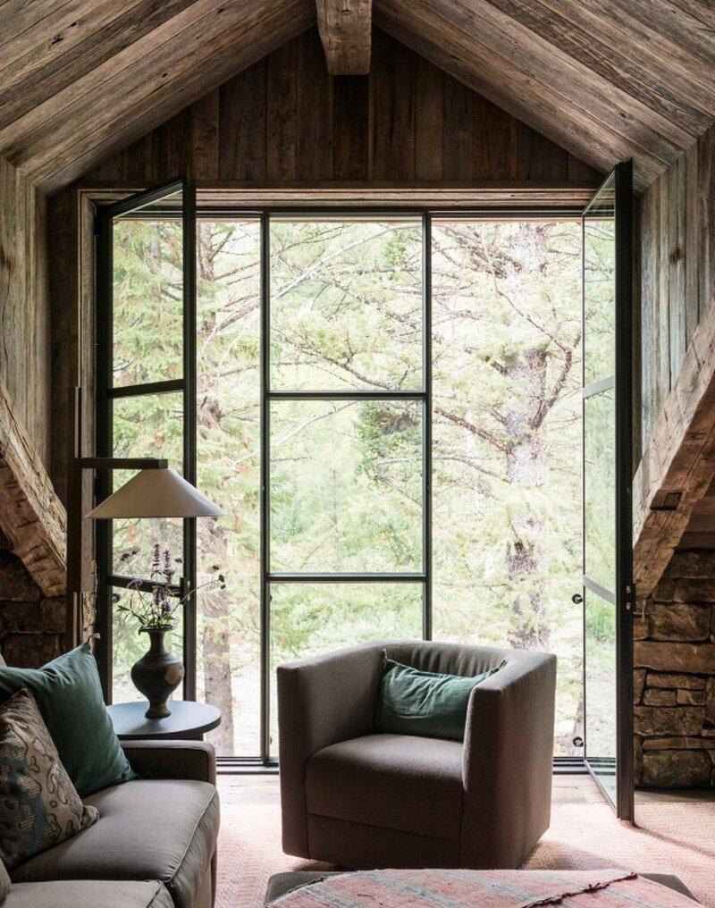 Fish Creek House In Wilson, Wyoming JLF Architects 6
