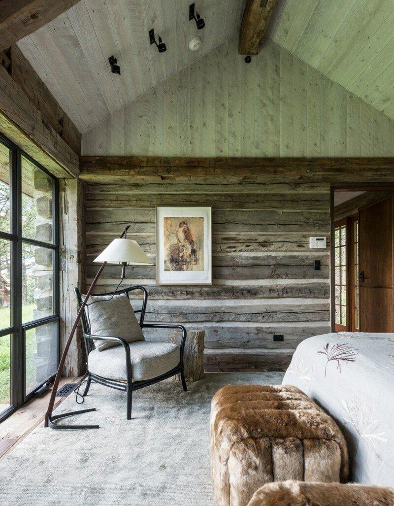 Fish Creek House in Wilson, Wyoming JLF Architects 10