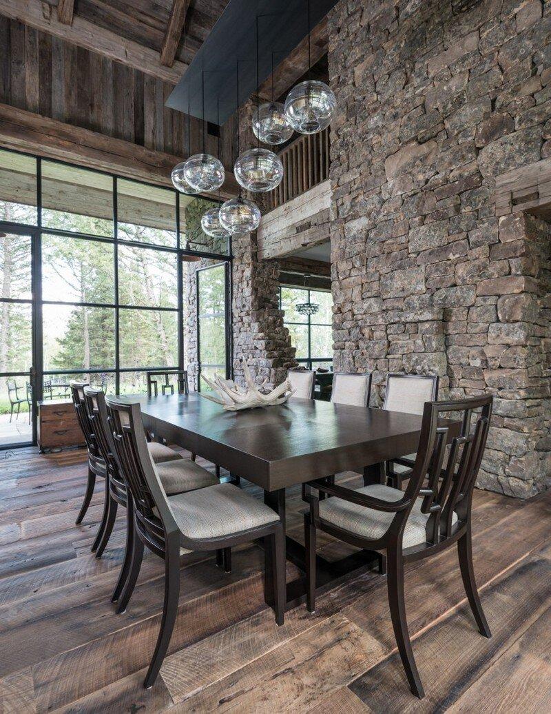 Delightful Fish Creek House In Wilson, Wyoming JLF Architects 2