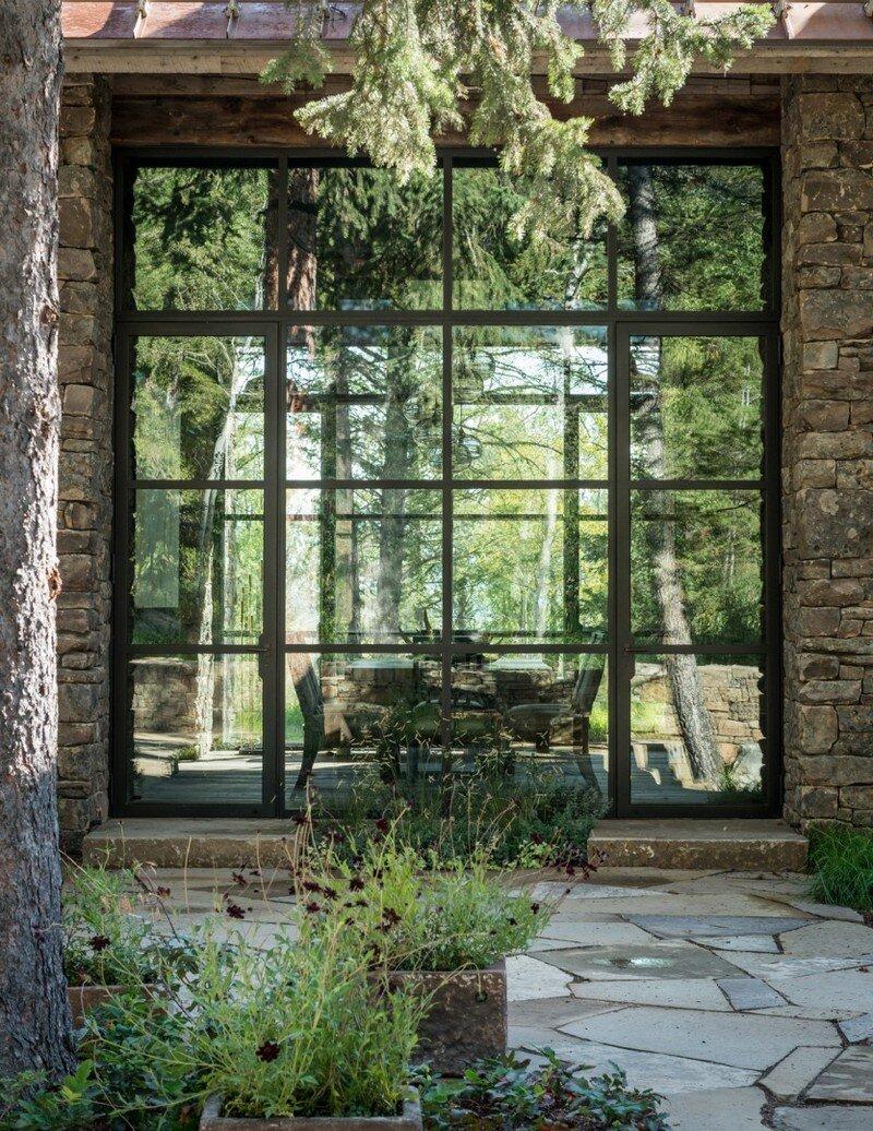 Fish Creek House in Wilson, Wyoming JLF Architects 13