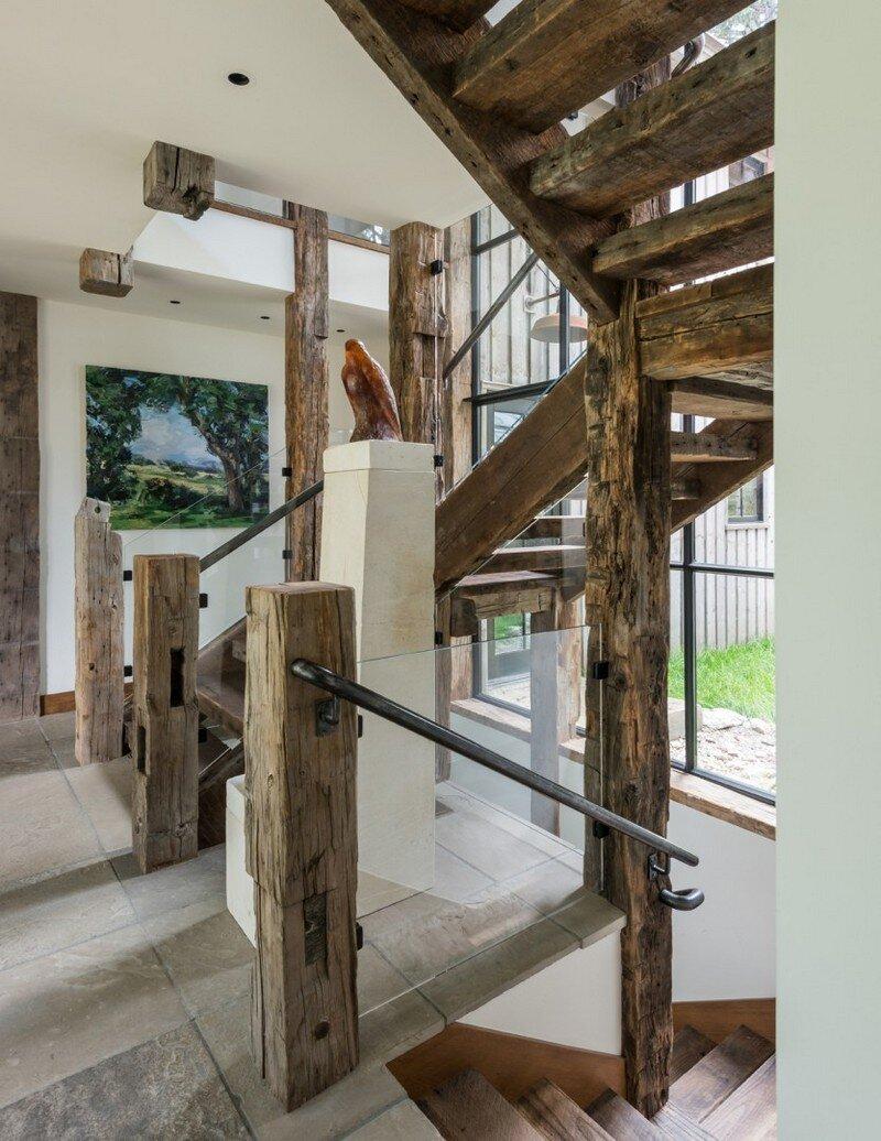 Fish Creek House in Wilson, Wyoming JLF Architects 5