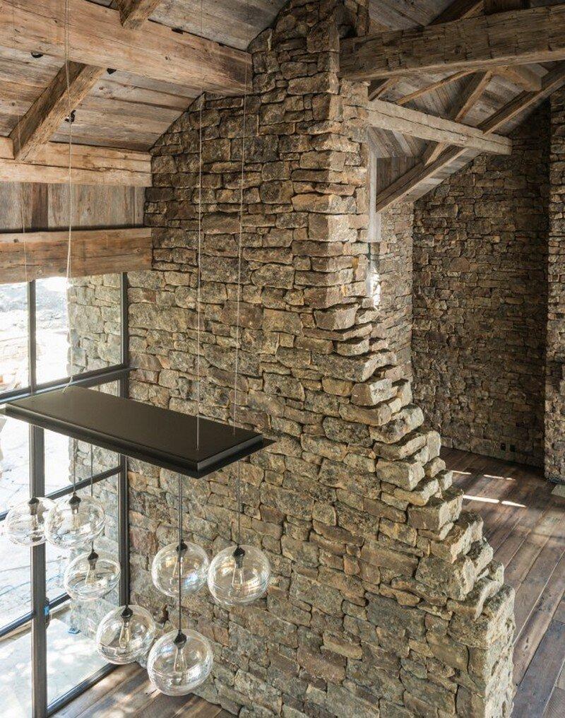 Fish Creek House in Wilson, Wyoming JLF Architects 3
