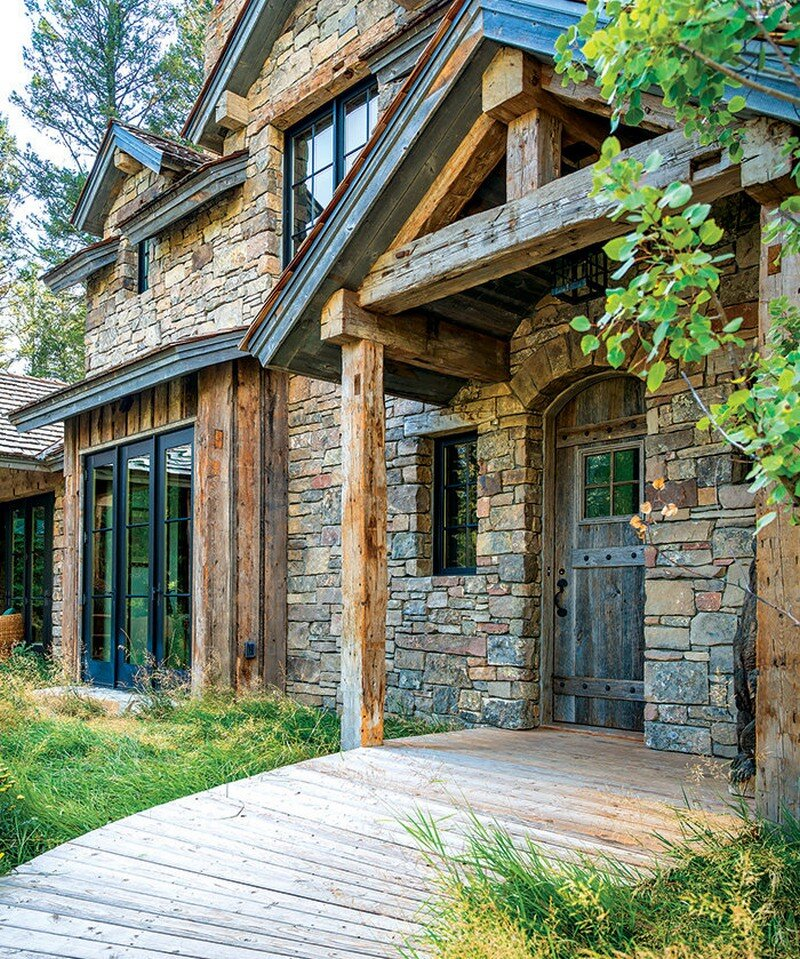 Fishcreek Woods - Tiny Guest Cottage in Jackson, Montana