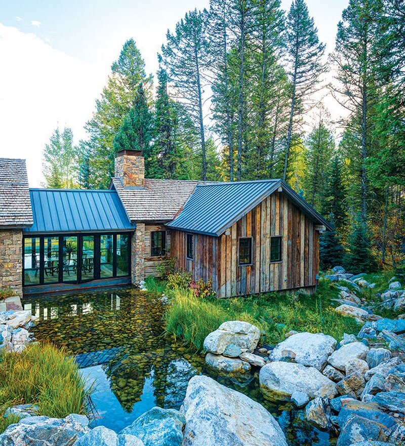 Mountain Creek Apartments: Fishcreek Woods: Tiny Guest Cottage In Jackson, Wyoming
