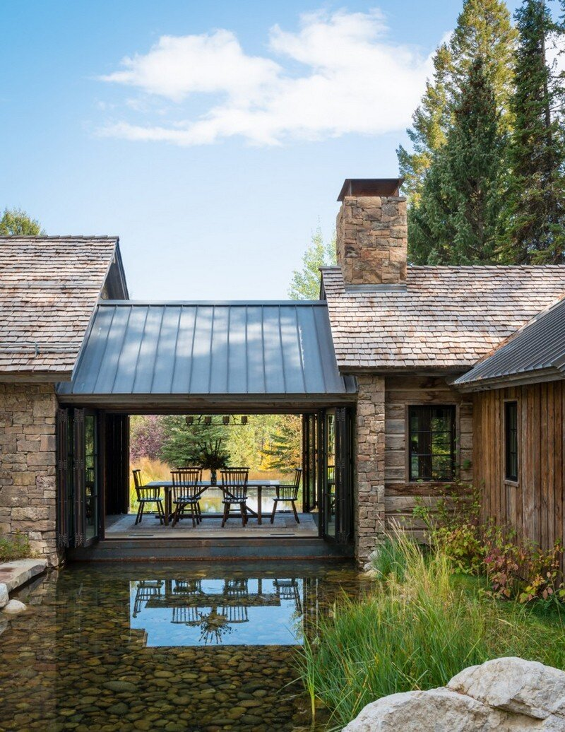Fishcreek Woods Tiny Guest Cottage In Jackson Wyoming