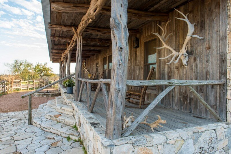 Barber Ranch : Fredericksburg Ranch is an interior design project recently completed ...