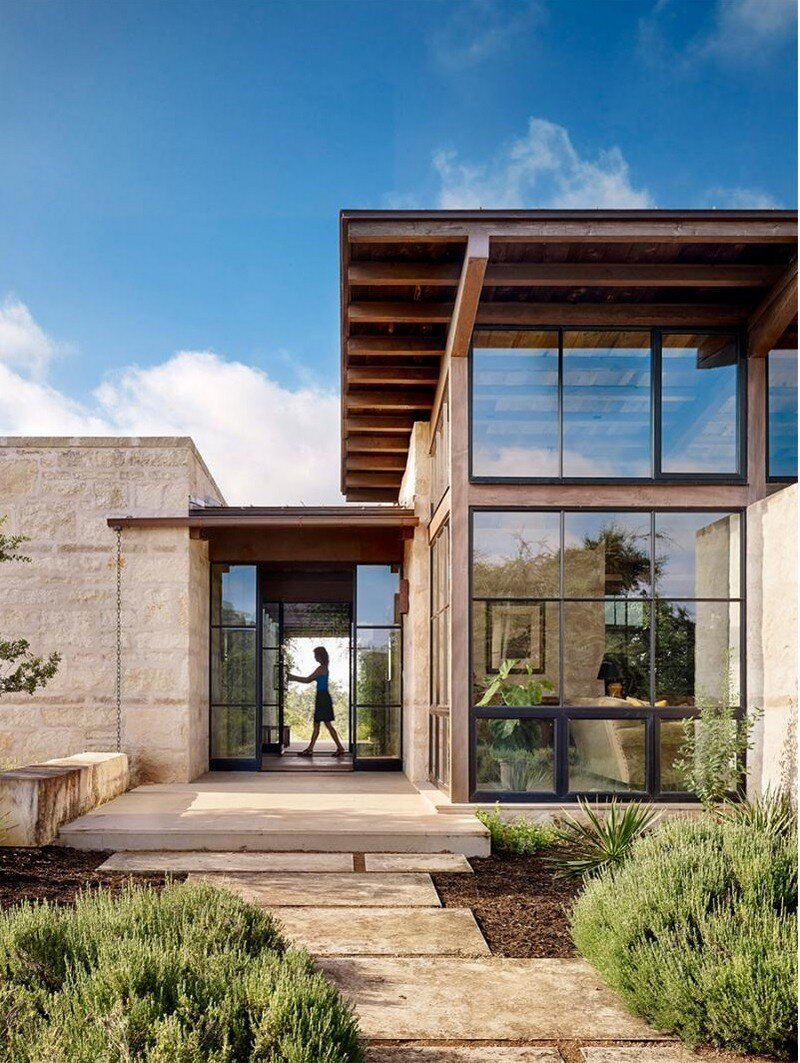 Goat mountain ranch by lake flato architects for Home architecture