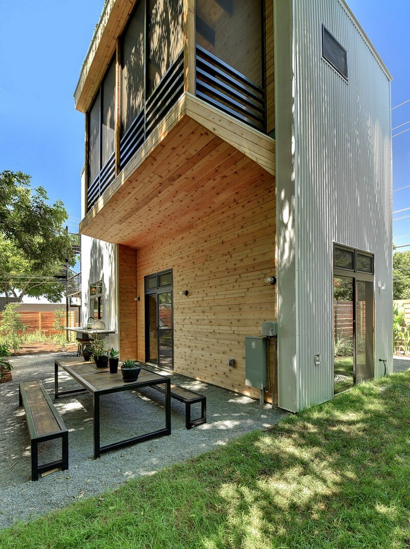 Haskell Health House Urban Garden Home In Austin 22