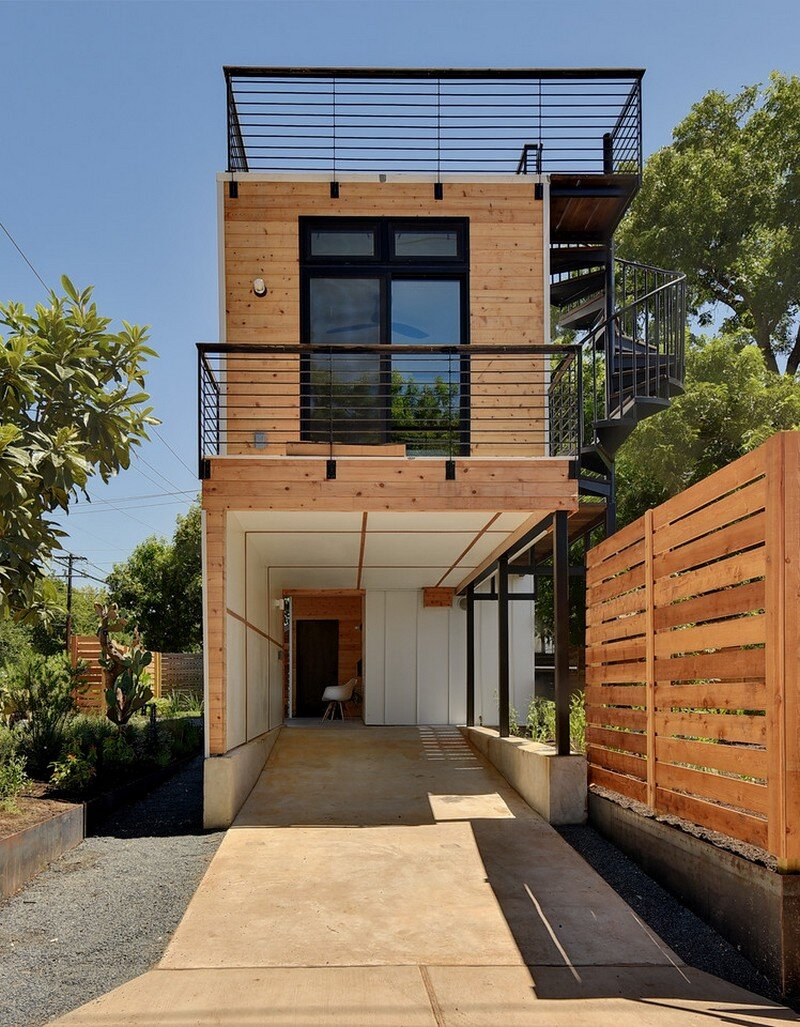 Haskell Health House - Urban Garden Home in Austin (3)