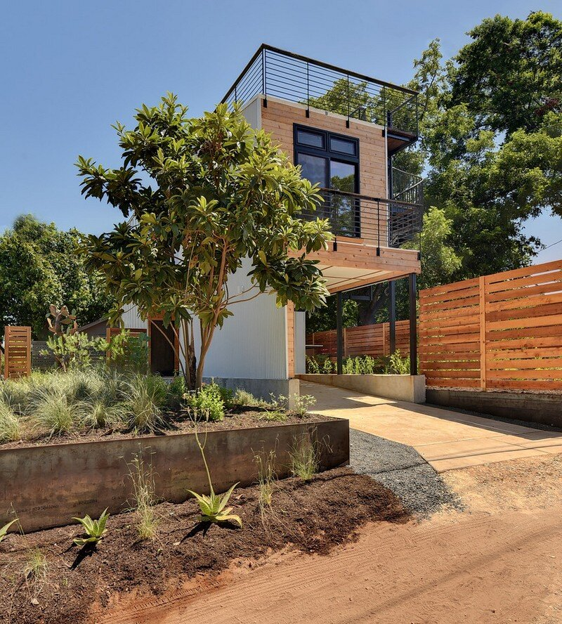 Haskell Health House Urban Garden Home In Austin