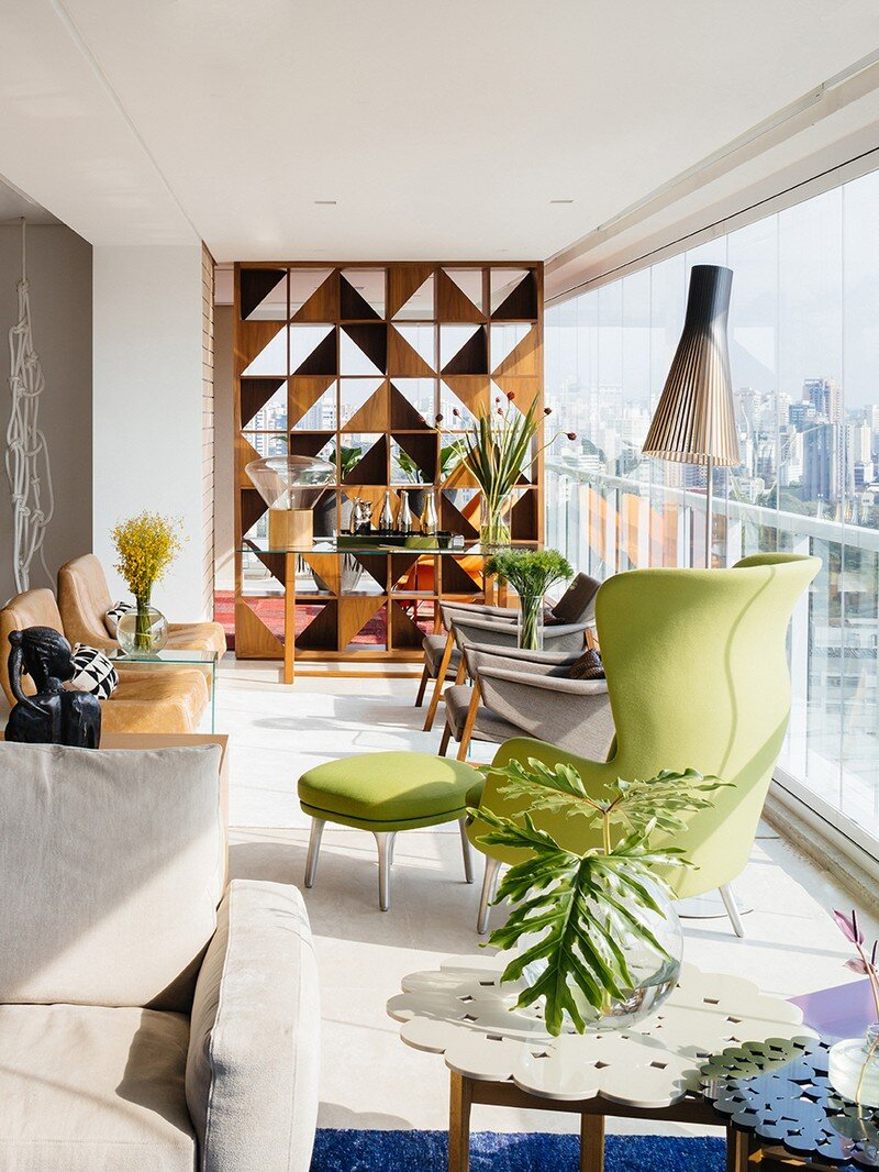 Ibirapuera Apartment - Mix of Contemporary and Brazilian Modern Classics 5