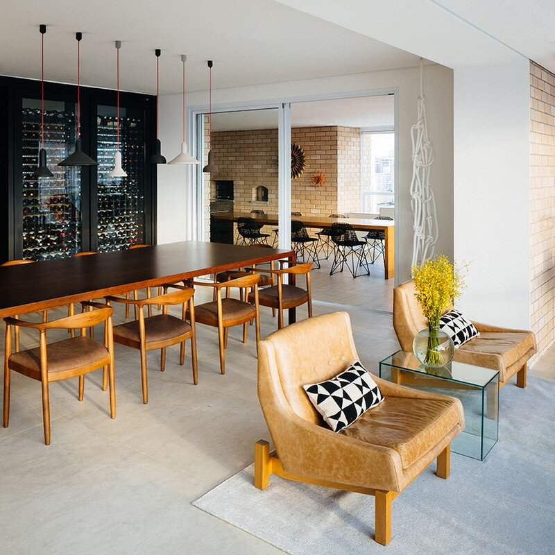 Ibirapuera Apartment - Mix of Contemporary and Brazilian Modern Classics 7