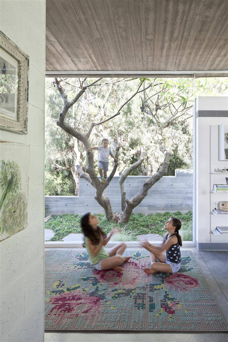 Kedem House in Ramat HaSharon- A House of an Architect (12)