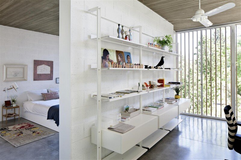 Kedem House in Ramat HaSharon- A House of an Architect (21)