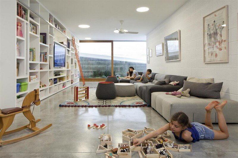 Kedem House in Ramat HaSharon- A House of an Architect (5)