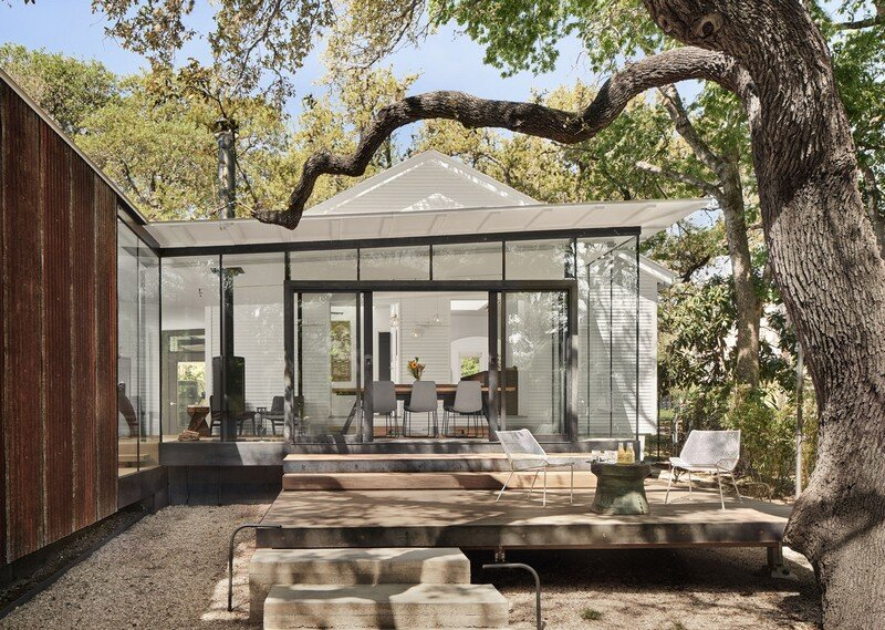 LeanToo Cottage in Texas / Nick Deaver