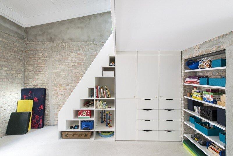 Miller House in Berlin / Asdfg Architekten 12