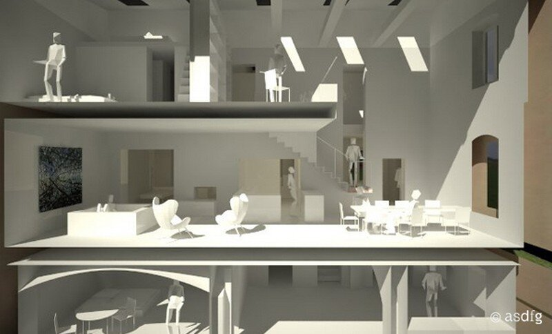Miller House in Berlin / Asdfg Architekten 19