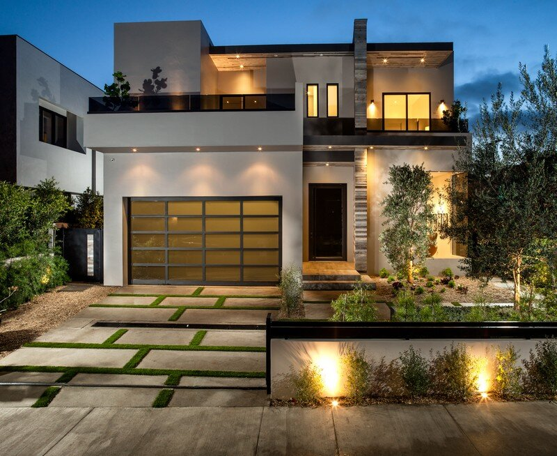 Modern dream house in west hollywood prime five homes for Modern new homes