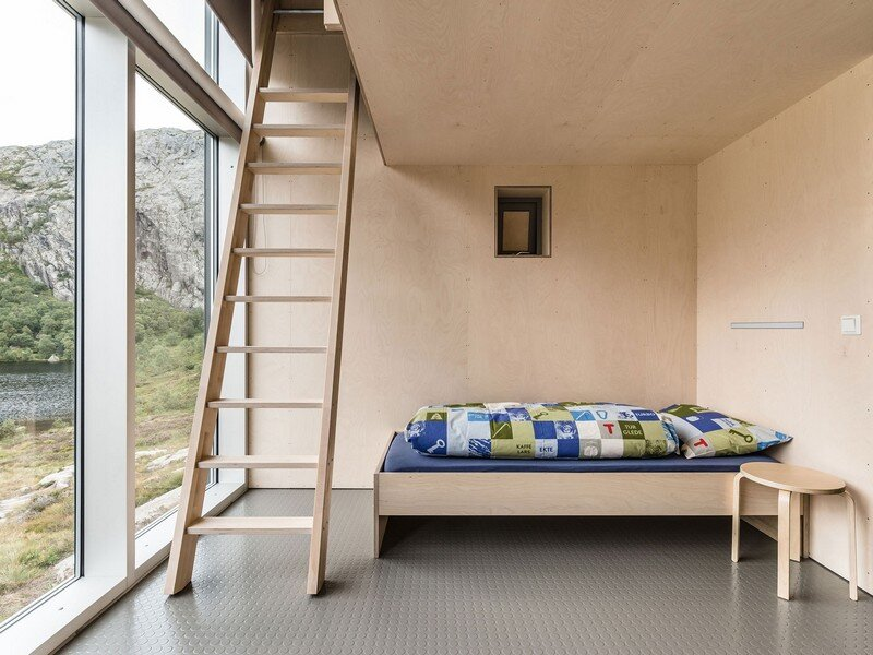 Modern Weatherproof Lodges on the Rogaland Hiking Trail 11