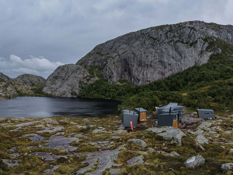 Modern Weatherproof Lodges on the Rogaland Hiking Trail 1