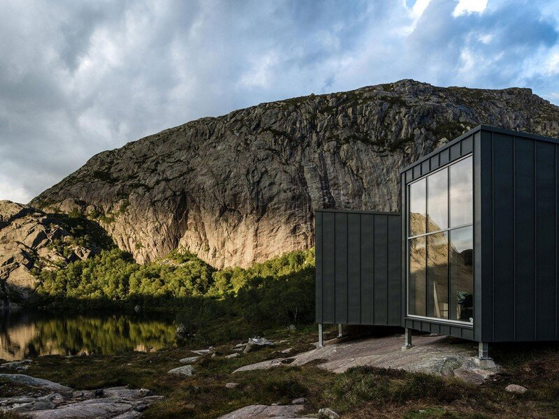 Modern Weatherproof Lodges on the Rogaland Hiking Trail 5