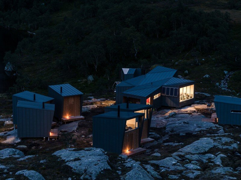Modern Weatherproof Lodges on the Rogaland Hiking Trail 17