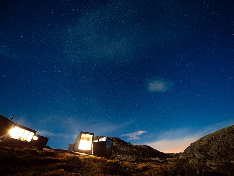 Modern Weatherproof Lodges on the Rogaland Hiking Trail 19
