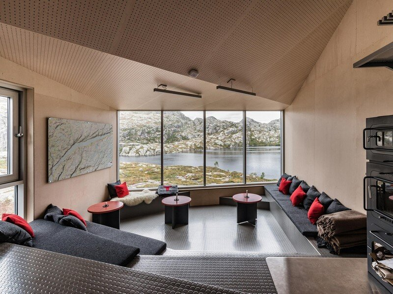 Modern Weatherproof Lodges on the Rogaland Hiking Trail 7
