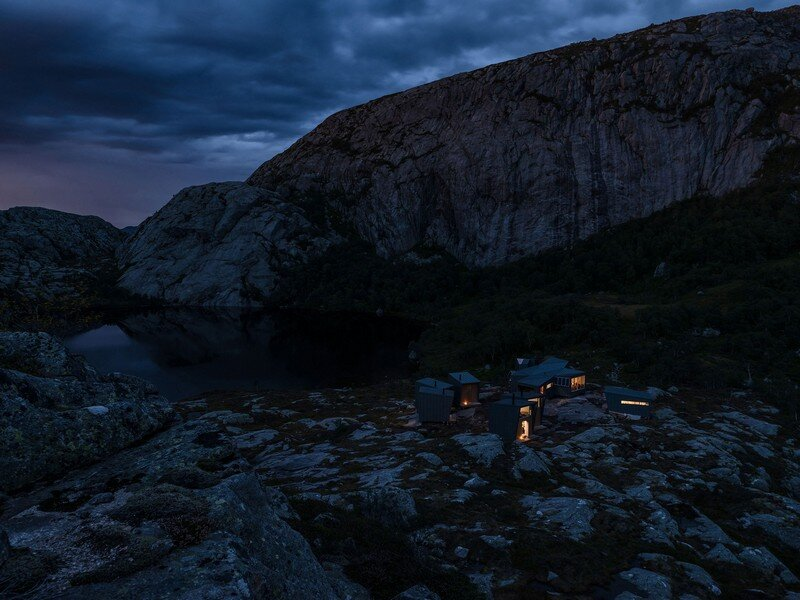 Modern Weatherproof Lodges on the Rogaland Hiking Trail 20