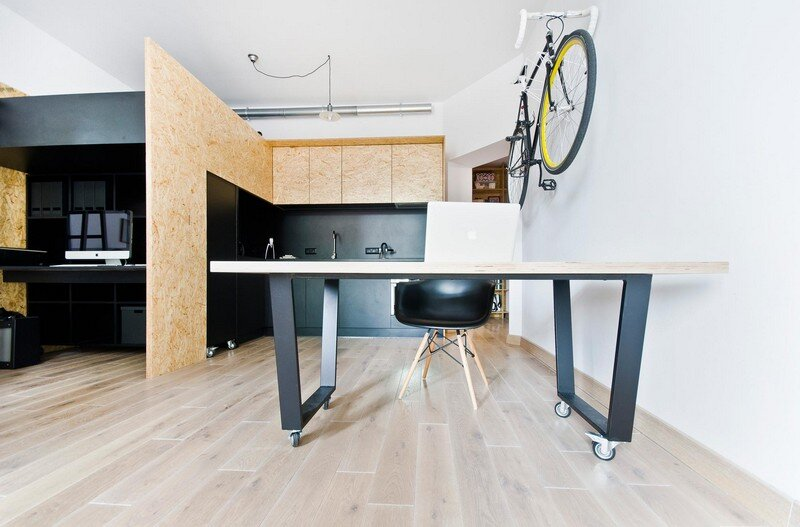 Multfunctional Space Brandburg Design Studio and Apartment in 37sqm 15